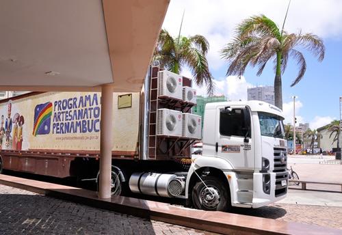 Caminhão Artesanato Pernambucano