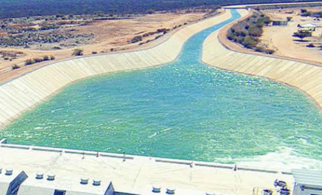 Resultado de imagem para Águas do Projeto São Francisco voltam a percorrer canais do Eixo Norte